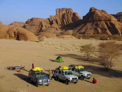 Verlorenes Paradies der Sahara Wüstenrundreise mit Expeditionscharakter