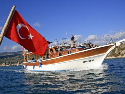 Reise in Türkei, Markierungen und Hinweisschilder Lykien