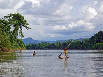 Reise in Papua-Neuguinea, Skelett-Boy