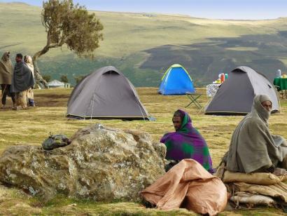 Reise in Äthiopien, Vulkan Erta Ale