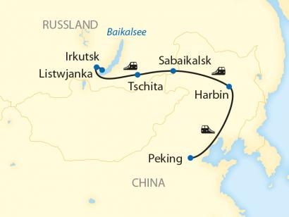 Reise in China, Vom Eis am Baikalsee zum Eis-Festival in Harbin (2020/2021)