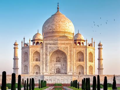 Reise in Indien, Indien