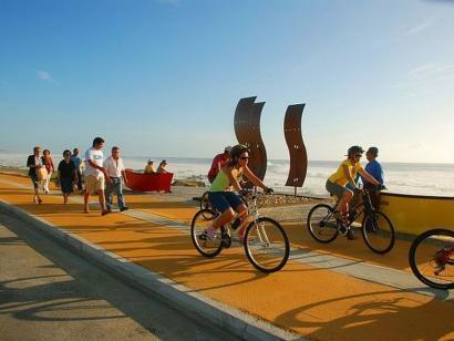 Reise in Portugal, Radtour entlang der Küste
