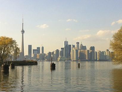 Reise in Kanada, Skyline von Toronto