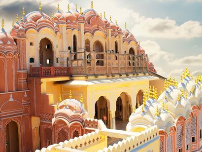Reise in Indien, Hawa Mahal – Palast der Winde