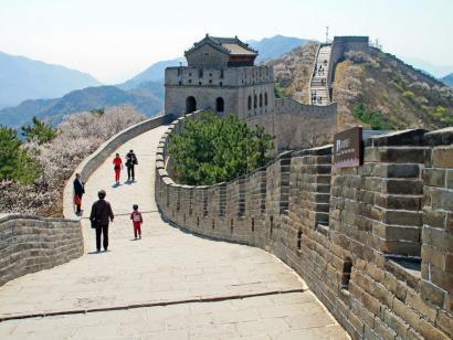Reise in China, Pilgerer auf dem Barkhor in Lhasa