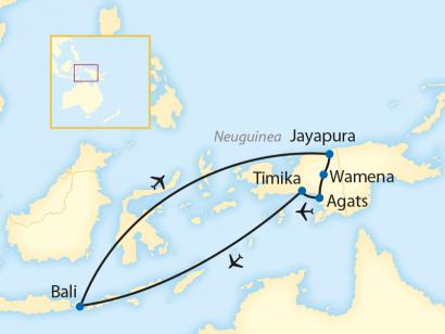 Reise in Indonesien, West-Papua: Stammesfeste und Paradiesvögel (2020/2021)