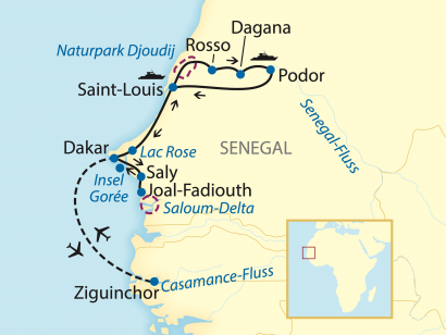 Reise in Senegal, Westafrikanischer Flusszauber - Der Senegal (2020)