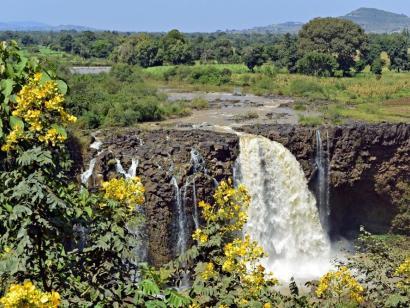 Reise in Äthiopien, auf dem Kirchengelände