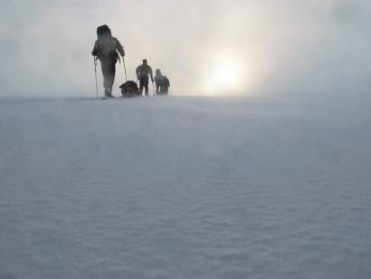 Reise in Schweden, Winter-Outdoorkurs
