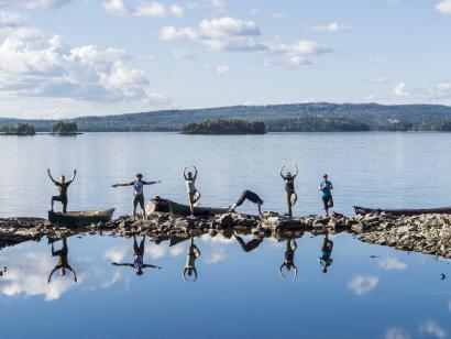 Reise in Schweden, Yoga und Natur