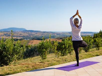 Reise in Italien, Yoga-Urlaub auf dem Anwesen Isola Bontempi