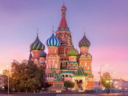 Reise in Russland, Basilius-Kathedrale in Moskau, Russland