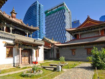 Reise in Mongolei, Tschoidschin-Lama-Tempel-Museum in Ulaanbaatar, Mongolei
