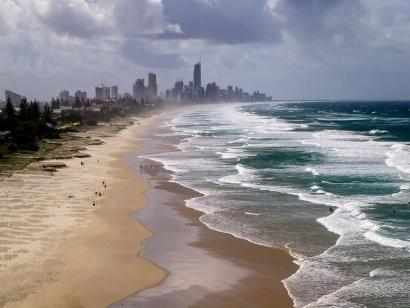 Reise in Australien, Gold Coast – eine Stadt an der Südostküste von Queensland