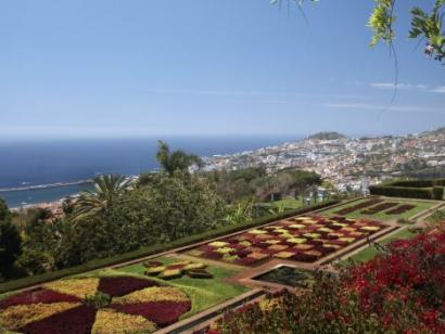 Reise in Portugal, Der Botanische Garten in Funchal