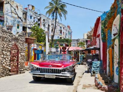 Reise in Kuba, Oldtimer auf Kuba