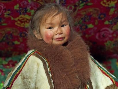 Reise in Russland, Tschuma mit Nordlicht