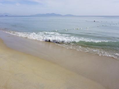 Reise in Vietnam, Netze reparieren nach dem Fang