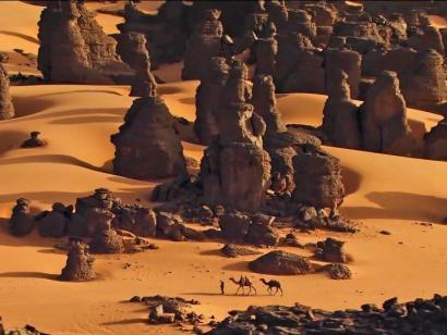 Reise in Algerien, Safari im Tassili n'Ajjer Nationalpark