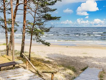 Reise in Estland, Strand von Jurmala, Lettland