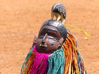 Reise in Burkina Faso, FESTIMA Maskenfestival in Dedougdou