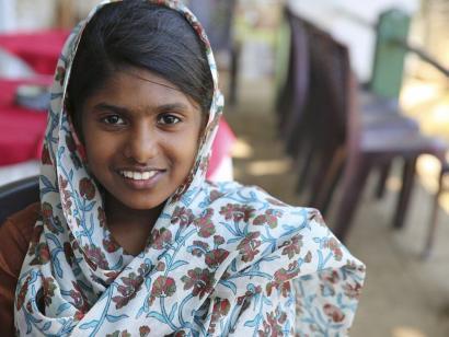 Reise in Sri Lanka, Mädchen aus Sri Lanka