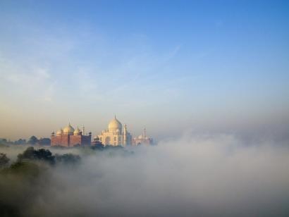 Reise in Indien, Taj Mahal in Agra