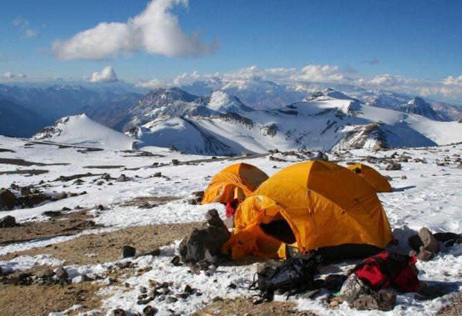 Reise in Argentinien, Aconcagua Gipfel