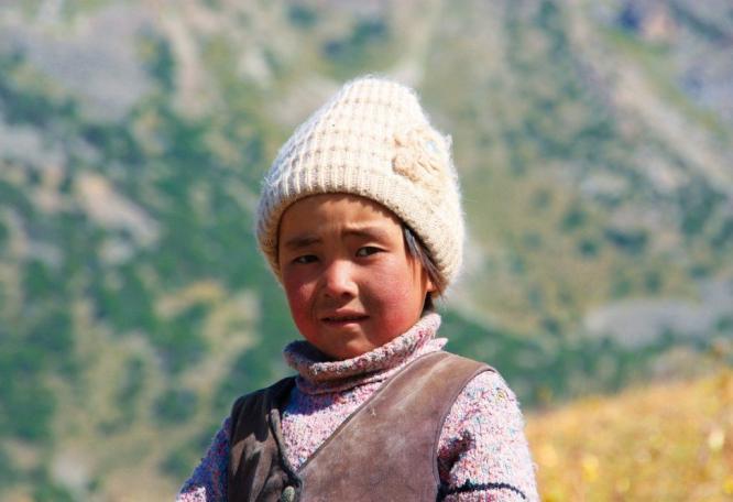 Reise in Kirgistan, Trekking in Aksu-Sabakh
