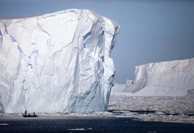 Reise in Antarktis, Amundsen-See
