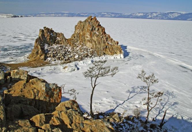 Reise in Russland, Baikal-Eistrekking mit Transsibanreise winterliche Trekking- und Naturreise