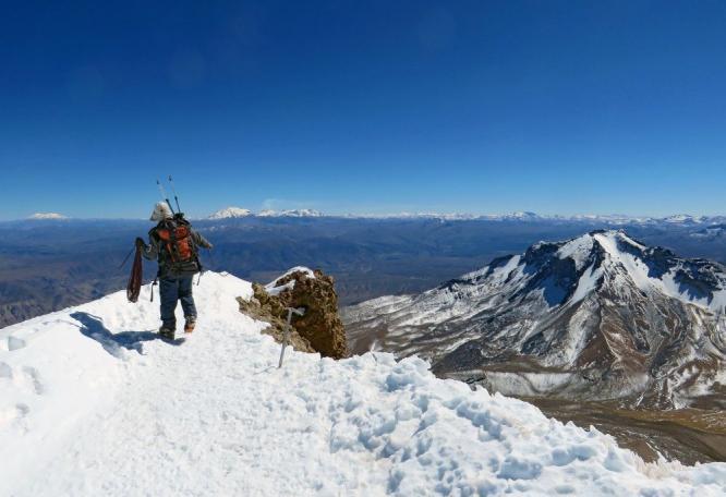 Reise in Peru, Nevado Coropuna (6425m)
