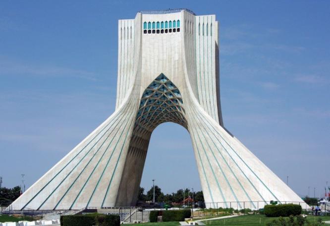 Reise in Iran, Asadi Monument