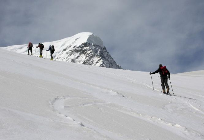 Reise in Russland, Skitour im Kaukasus