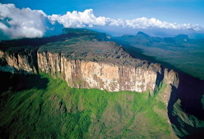 Reise in Venezuela, Roraima-Tepuy in Venezuela, Südamerika