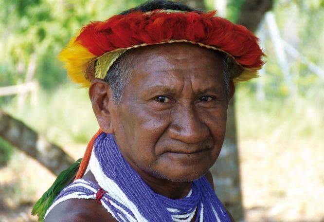 Reise in Venezuela, Piaroa Indigena im Grenzgebiet Venezuela - Kolumbien
