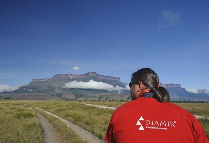 Reise in Venezuela, Mit DIAMIR unterwegs zum Roraima, Tafelbergregion Venezuela