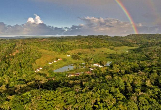 Reise in Brasilien, Regenbogen