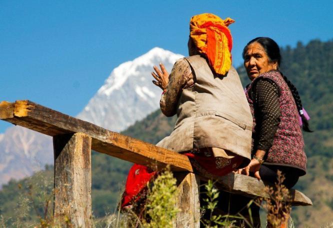 Reise in Nepal, Trekking auf der Annapurna-Runde