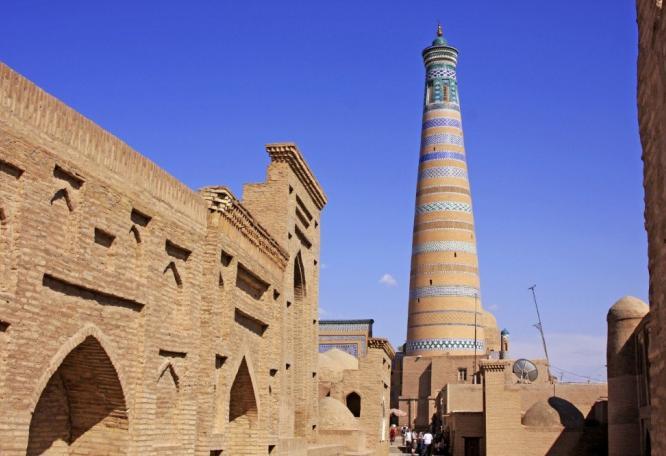 Reise in Turkmenistan, Chor Minor in Buchara