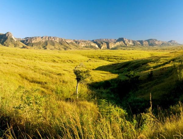 Reise in Madagaskar, In den Morgenstunden im Isalo-Nationalpark