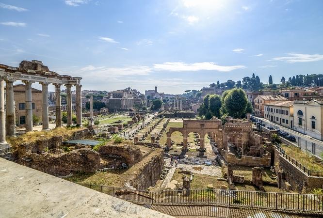 Reise in Italien, Rom - Forum Romanum