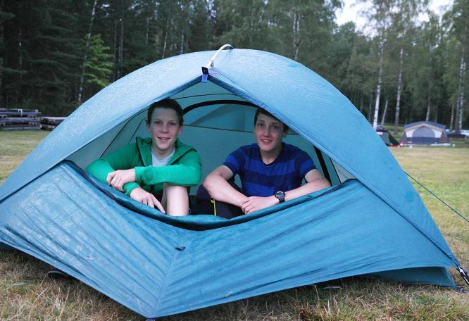 Reise in Schweden, Jugendreise Seekajak