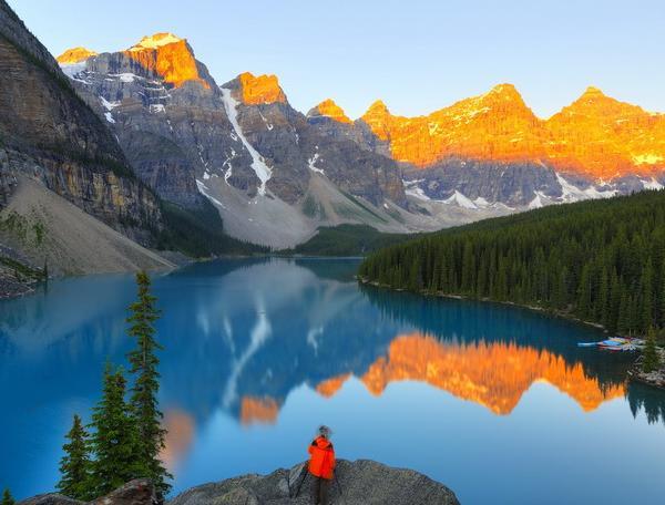 Reise in Kanada, Kanadas Westen - Im Land der tausend Abenteuer