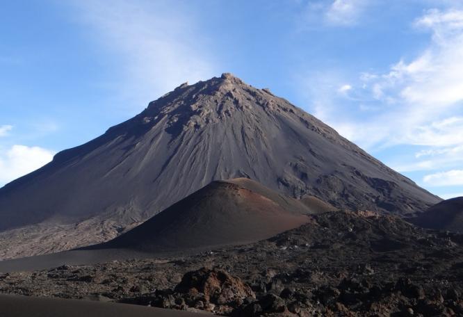 Reise in Kap Verde, Cha das Caldeiras und Pico de Fogo