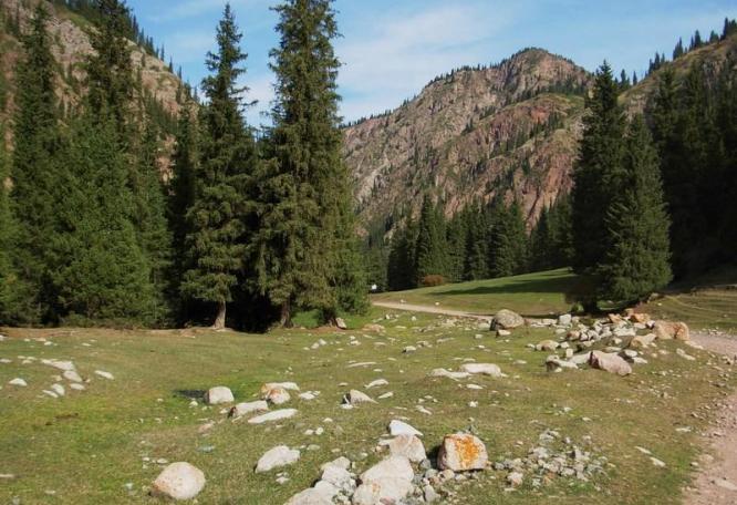 Reise in Kirgistan, Im Ala Archa-Nationalpark