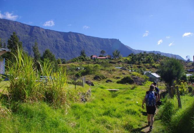 Reise in Réunion, Wanderung