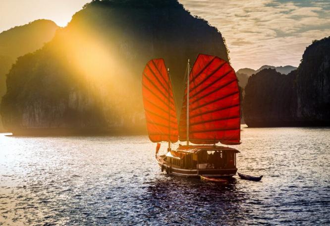 Reise in Kambodscha, Halongbucht