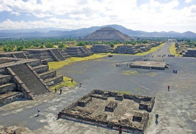 Reise in Mexiko, Abstieg vom Pico de Orizaba mit fantastischem Ausblick